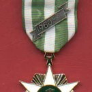 Vietnam Campaign medal with ribbon bar and 60 devices