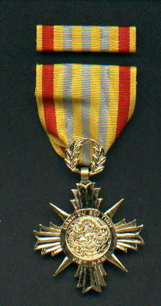 Vietnam Honor medal 1st Class with ribbon bar