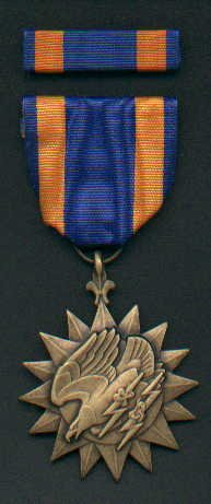 US Air medal with ribbon bar