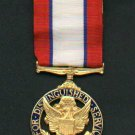 US Army Distinguished Service Medal with ribbon bar