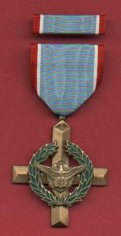 US Air Force Cross Medal with ribbon bar