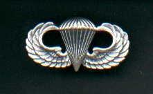 Parachute Jump Wings