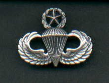 Master or Command Parachute Jump Wings