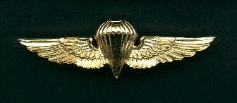 Navy and Marine Parachute Jump Wings