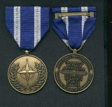 NATO Afghanistan Security Assistance medal