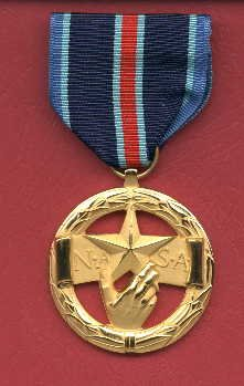 NASA Exceptional Bravery medal