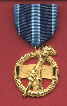 NASA Outstanding Leadership medal