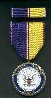 US Navy Commemorative medal with ribbon bar