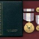 US Army Distinguished Civilian Service medal cased set