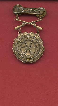 US Army Excellence in Competition for Rifleman badge in Bronze