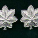 Pair of LT Lieutenant Colonel rank insignia 1/2 size