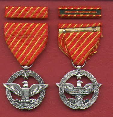 NEW US Air Force Combat Action  medal with ribbon bar