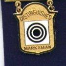 USMC Marine Corps Distinguished Rifleman Badge in gold