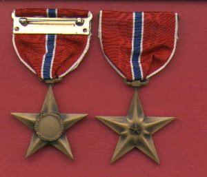 WWII Bronze Star medal WW2