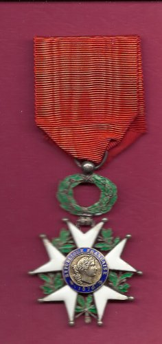 WWI and WWII French France Legion of Honor Cross medal Military Award
