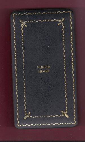 Empty Case box for WWII Purple Heart Award medal Vintage WWII