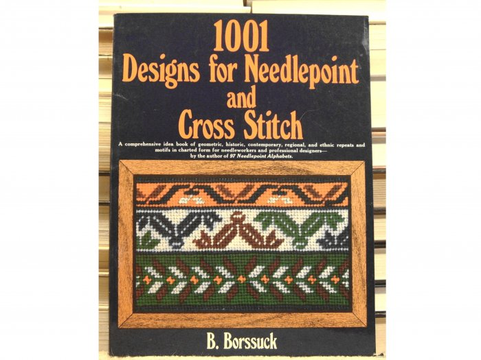 1001 Designs for Needlepoint and Cross Stitch