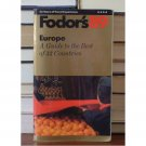 Fodor's 89 Europe: A Guide to the Best of 33 Countries