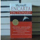 Microsoft Encarta Dictionary The First Dictionary for the Internet Age