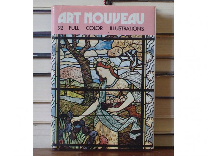 Art Nouveau, 92 Full Color Illustrations