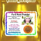 Fo-ti Root Powder (Polygonum multiflorum, He Shou Wu) Organic Grown All Natural - 2 LBS
