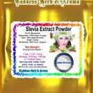 Stevia Extract white powder 93% (Stevioside) Organic Grown All Natural - 2 LBS
