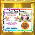 Fo-ti Root Powder (Polygonum multiflorum, He Shou Wu) Organic Grown All Natural - 1 LB