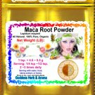 Maca Root Powder (Lepidum mayenil) Organic Grown All Natural - 1 LB