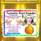 Turmeric Root Powder (Curcuma longa) Organic Grown All Natural - 1 LB