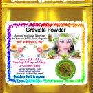 Graviola Powder (Soursop) Organic Grown All Natural Wild Crafted 100% Pure- 2 LB