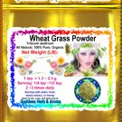 Wheat Grass Powder (Triticum aestivum) Organic Grown All Natural - 1 LB