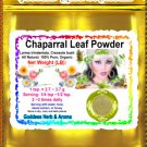 Chaparral leaf powder (Larrea Trindentata, Creosote Bush) Organic Grown All Natural - 1 LB