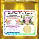 Wild yam root powder (Dioscorea Villosa) Organic Grown All Natural Wild Crafted 100% Pure - 1LB