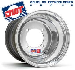 Polished Douglas 10x8  3+5 4/136 Ruckus Fatty Rim
