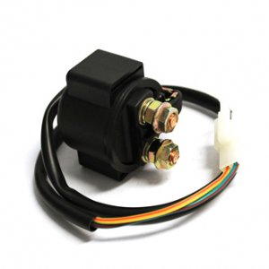 Relay and Starter Solenoid; GY6