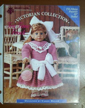 Shady Lane Original Crochet Designs � VICTORIAN COLLECTION � - Tea Time Frock