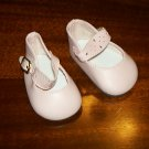 "Pink splendid ankle strap shoes from Monique trading Corp. for 18"" American Girl style Dolls"