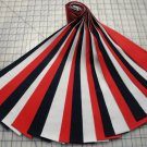 "JELLY ROLL-PATRIOTIC THEME-RED,WHITE & BLUE-KONA COTTON-21-2-1/2"" STRIPS-KAUFMAN"