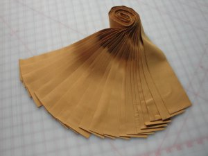 "JELLY ROLL ""CARAMEL"" KONA COTTON-20-2-1/2"" STRIPS-R.KAUFMAN-SPECIAL PRICE"