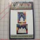 HAPPY SNOWMEN PATTERN BY LITTLE COUNTRY QUILTS