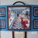 """TODAY'S DINER"" PANEL BY VIP-QUILTING TREASURES-QUILTING-SEWING-CRAFTS"