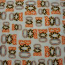 """BOO, BOO, BOO"" ON CREAM B/G BY ROBERT KAUFMAN-F/Q-QUILTING-SEWING-CRAFTING"