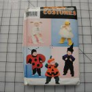 SIMPLICTY COSTUMES PATTERN #0638-SIZES 1/2-4 (TODDLERS)-DUCK,LAMB,LADYBUG,ETC.