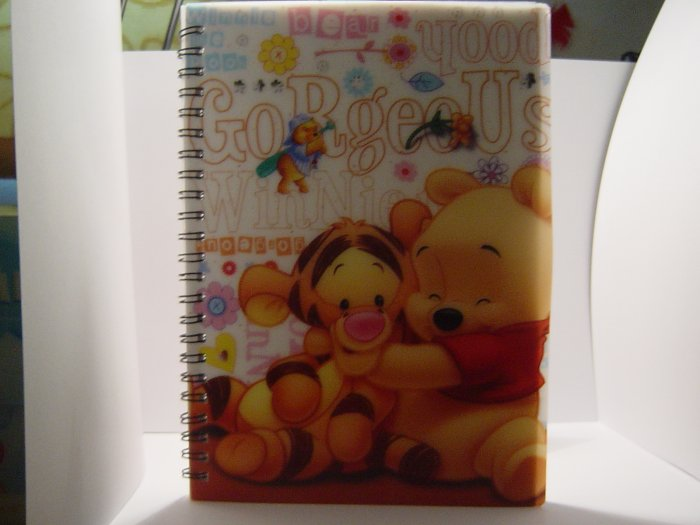 Baby Winnie The Pooh Notebook