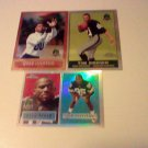 3 Card 1996 Topps Chrome HOF/Legends Lot