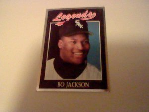 1991 Legends Sports Memorabilia Bo Jackson Legends Card #41