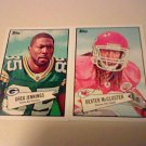 2 Card 2010 Topps 52B Insert Star Lot ( Dexter McCluster #52B-19 & Greg Jennings #52B-25 )
