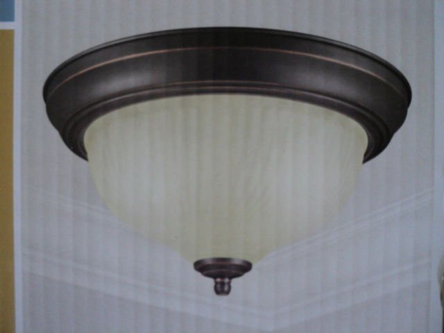 hampton bay flush mount ceiling light fixture. Black Bedroom Furniture Sets. Home Design Ideas