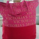Victoria's Secret Signature Colorblock Canvas Beach Tote