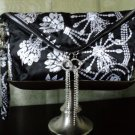Erickson Beamon Envelope Clutch With Crystal Tassel Pulls